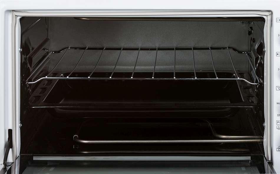 Мини-печь Simfer M 3640 с открытой дверцей