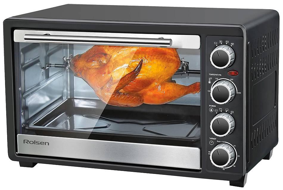 Мини печь Rolsen KW 3026 — больше функций